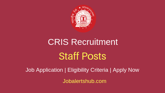 CRIS Staff Job Notification