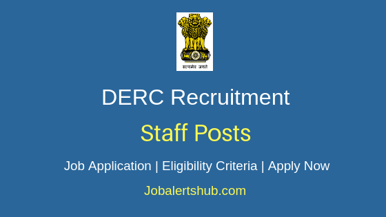 DERC Staff Job Notification