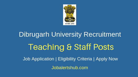 DU Teaching & Non-Teaching Job Notification