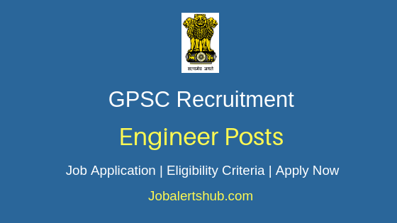 GPSC Engineer Job Notification
