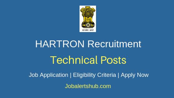 HARTRON Technical Job Notification