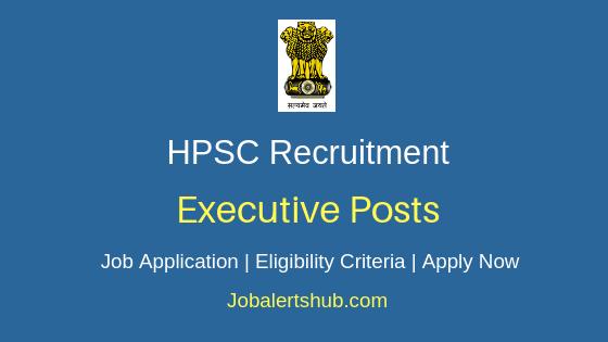 HPSC Executive Job Notification
