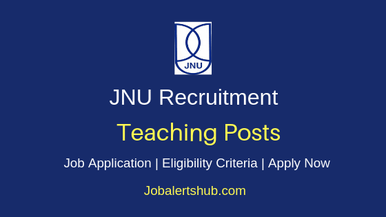 JNU Teaching Job Notification