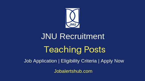 JNU Teaching Job Notification