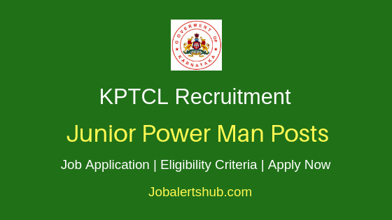 KPTCL Staff Job Notification