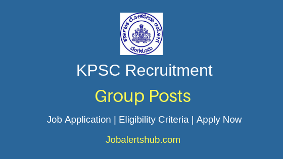 KPSC Group Job Notification