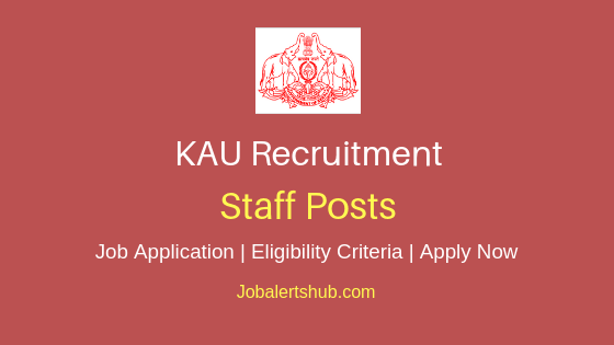 KAU Staff Job Notification