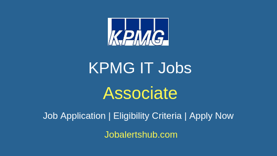 KPMG Associate Job Notification