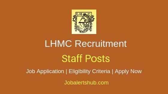 LHMC Staff Job Notification