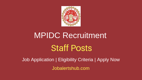MPIDC Staff Job Notification