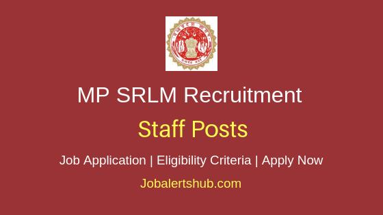 MP-SRLM Staff Job Notification