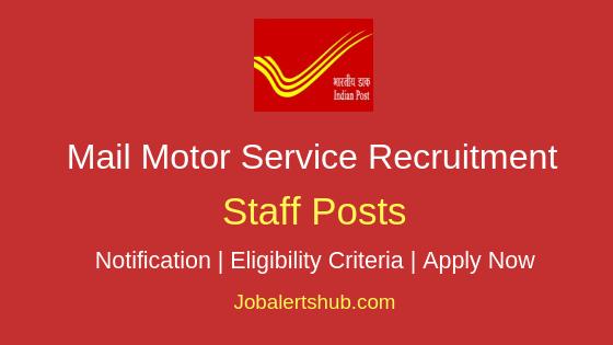 MMS Staff Job Notification