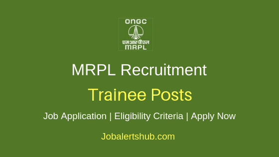 MRPL Trainee Job Notification