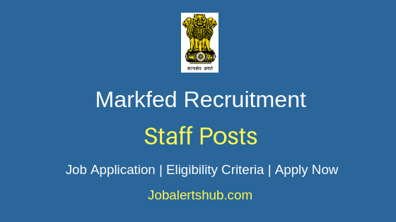 Markfed Punjab Staff Job Notification