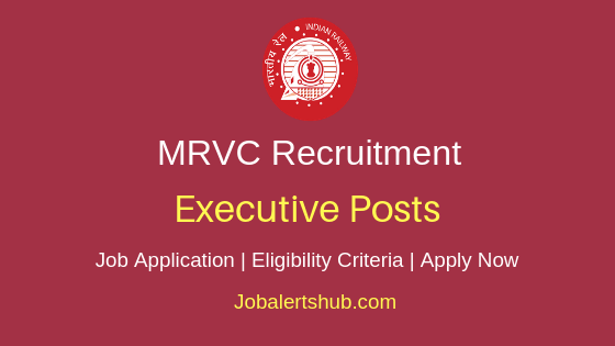 MRVC Executive Job Notification