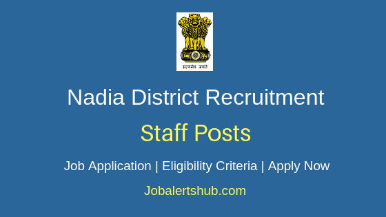 Nadia District Staff Job Notification