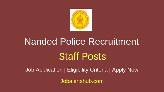 Nanded Police Staff Job Notification