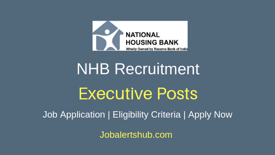 NHB Executive Job Notification