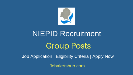 NIEPID Group Job Notification