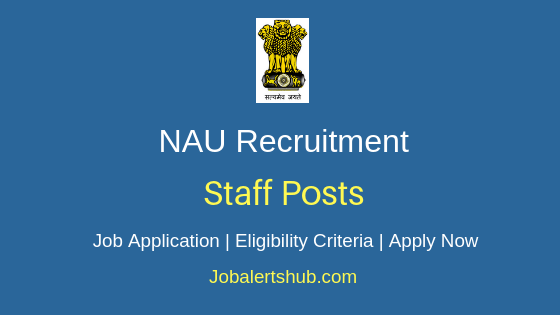 NAU  Staff Job Notification
