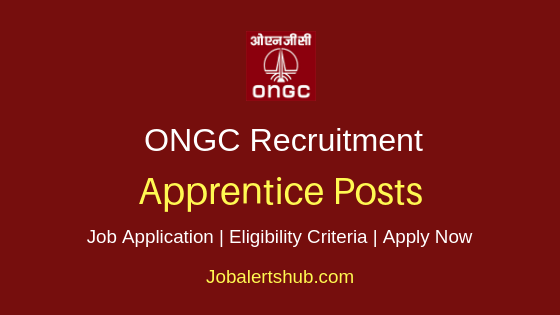 ONGC Apprentice Job Notification