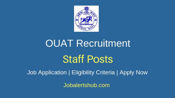 OUAT Staff Job Notification