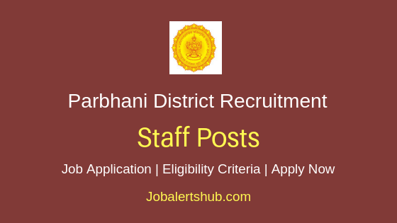 Parbhani District Staff Job Notification