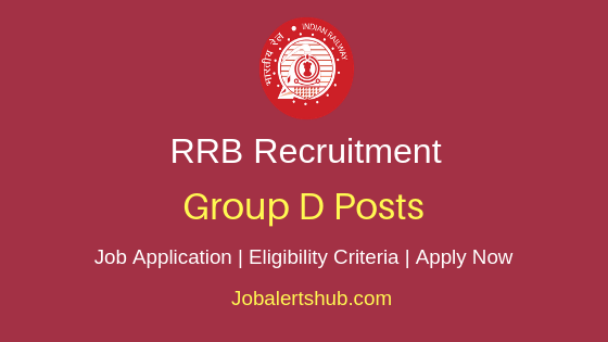 RRB Group D Job Notification