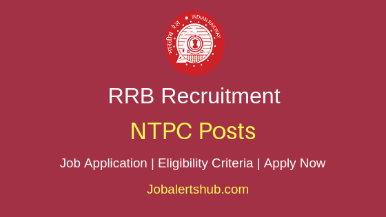 RRB NTPC Job Notification