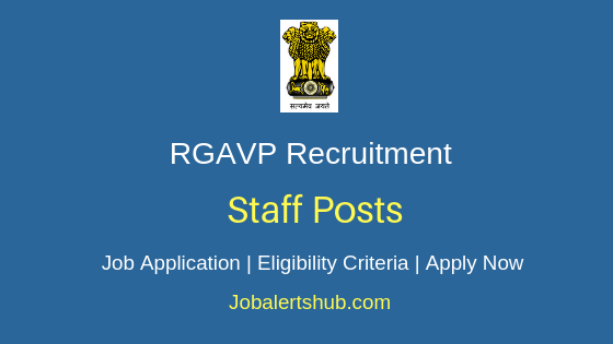 RGAVP Staff Job Notification