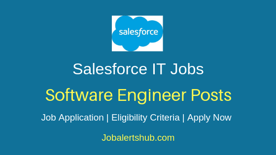 Salesforce India Private Limited Software Engineer Job Notification