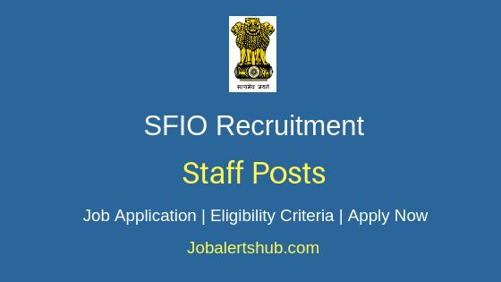 SFIO Staff Job Notification