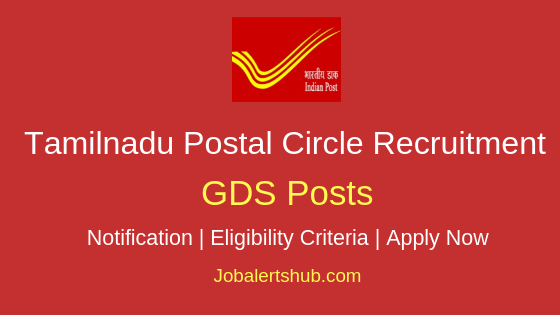TN Postal Circle GDS Job Notification