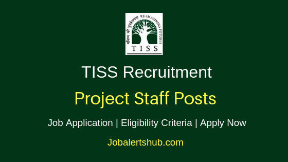 TISS Project Staff Job Notification