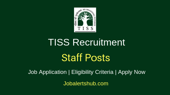 TISS Staff Job Notification