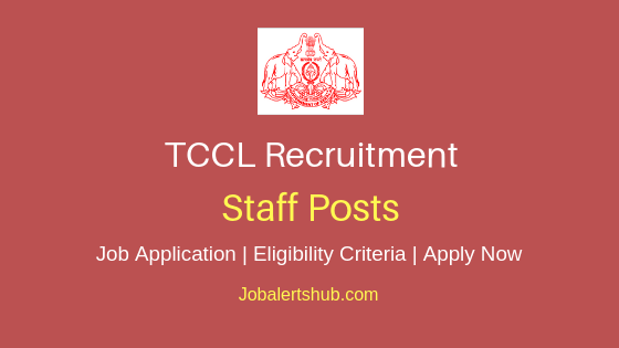 TCCL Staff Job Notification
