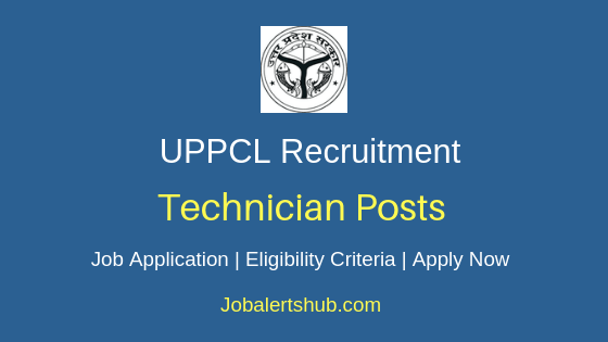 UPPCL Technician Job Notification
