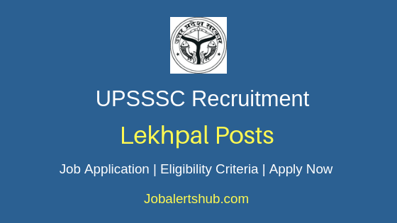 UPSSSC Lekhpal Job Notification