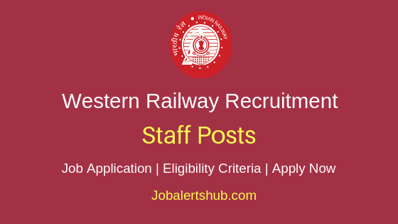 Western Railway Staff Job Notification