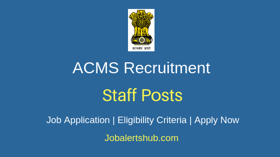 ACMS Staff Job Notification