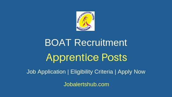 BOAT Apprentice Job Notification