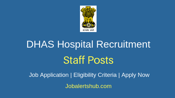 DHAS Hospital Staff Job Notification