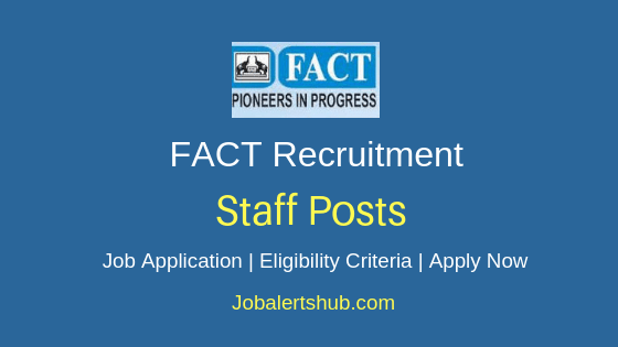 FACT Staff Job Notification