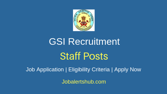 GSI Staff Job Notification