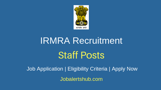 IRMRA Staff Job Notification