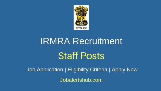 IRMRA Staff Job Notification