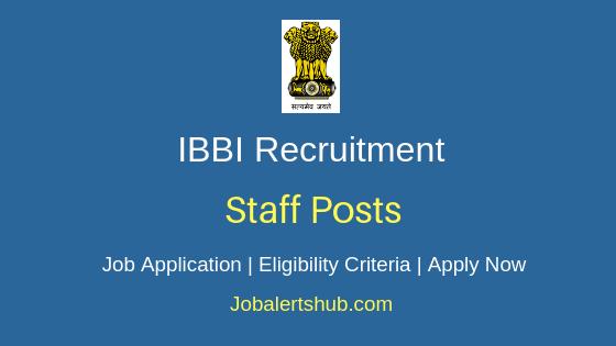 IBBI Staff Job Notification