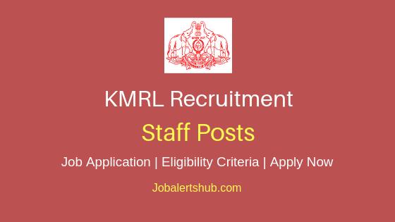 KMRL Staff Job Notification