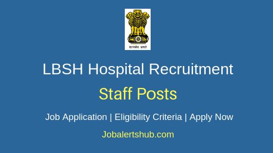 LBSH Hospital Staff Job Notification