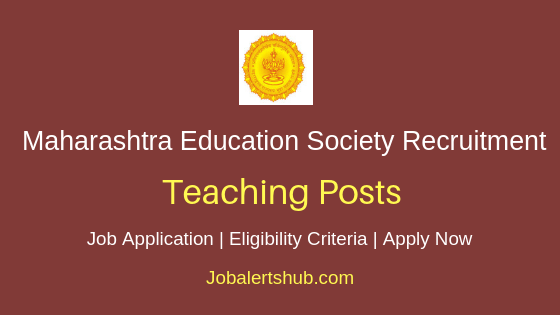 MES Teaching Job Notification